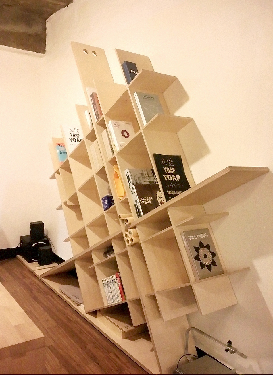 Diagonal Bookshelf Is ON SALE With Various Material Color For Further Details Please Contact Us Via Dbyoapyoapkr